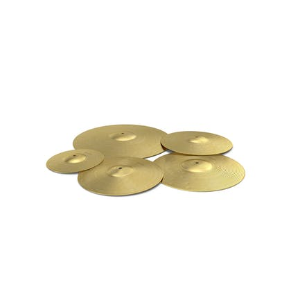 Brass Cymbal Set