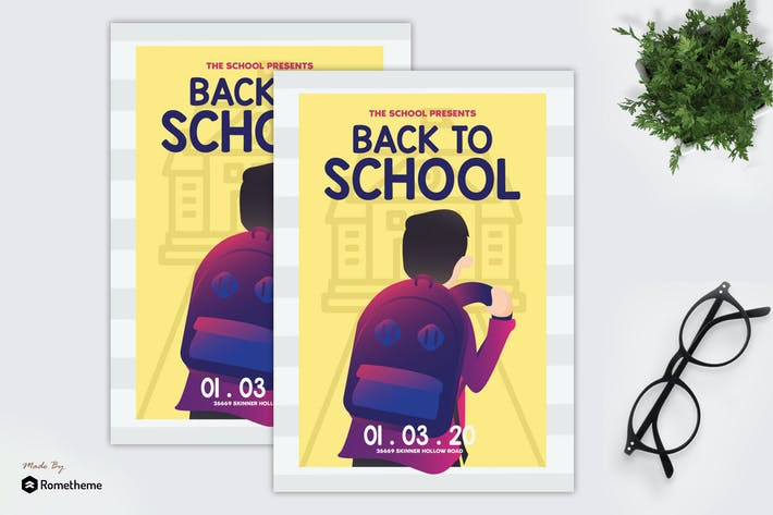 Cover Image For Back to School - Flyer GR
