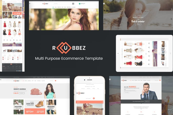Thumbnail for Rubbez- WooCommerce & Corporate WordPress Theme
