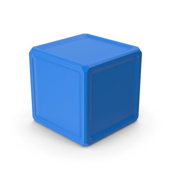 Куб Синий