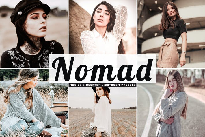 Thumbnail for Nomad Mobile & Desktop Lightroom Presets