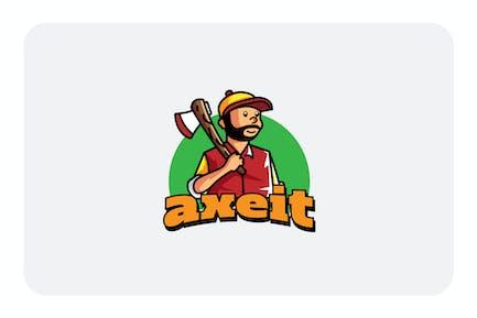 lumber jack - Mascot & Esport Logo