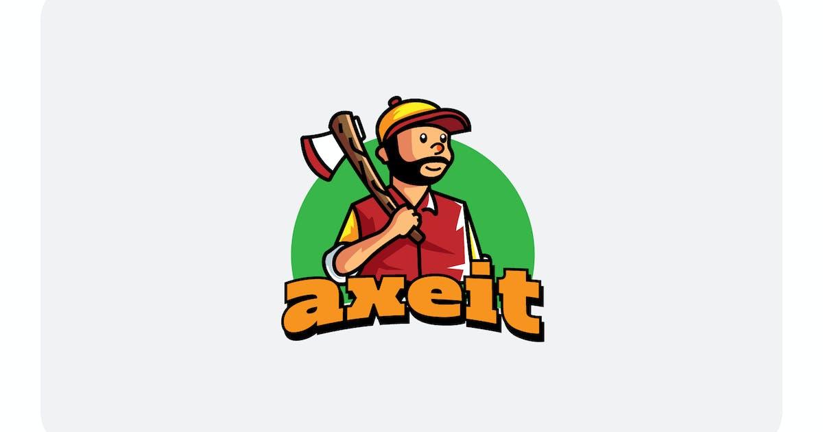 Download lumber jack - Mascot & Esport Logo by aqrstudio