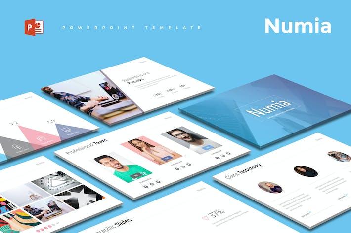 Thumbnail for Numia - Шаблон Powerpoint