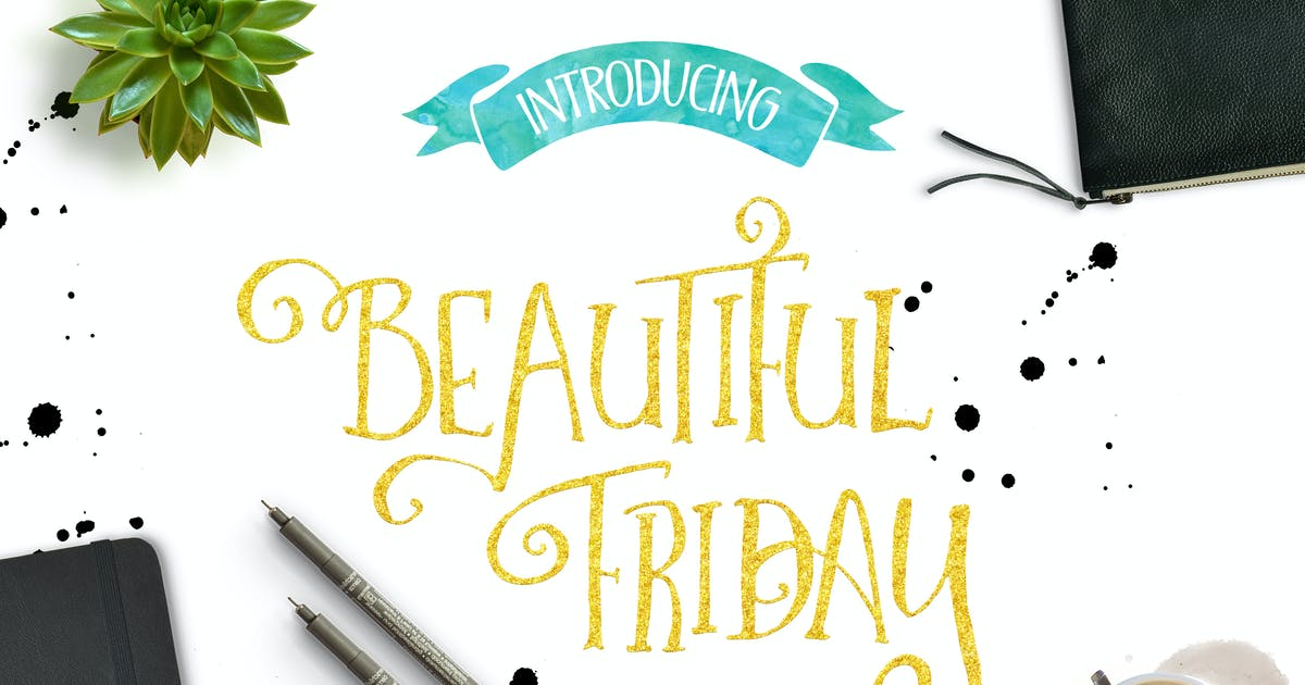 Download Beautiful Friday by Lostvoltype