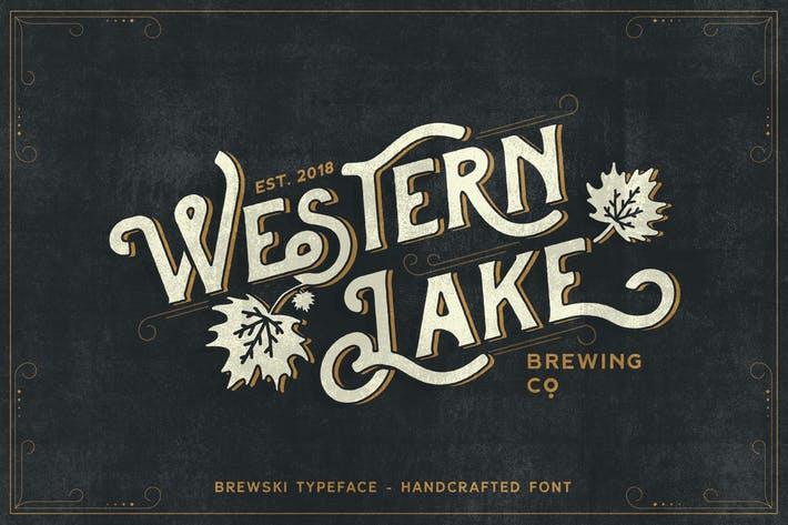 Thumbnail for Brewski - Brewery Typeface