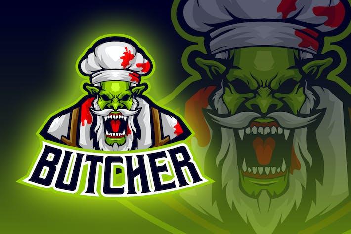 Thumbnail for Butcher Orc Esport Logo
