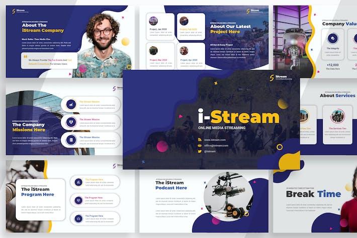 iStream - Media Streaming Keynote