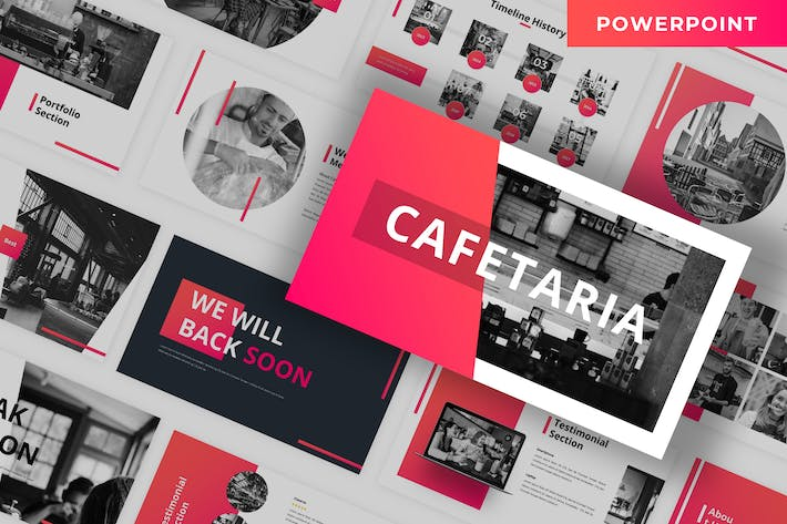 Thumbnail for Cafetaria - Business Powerpoint Template