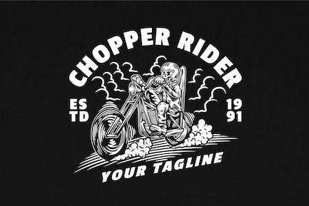 Chopper Rider Illustration