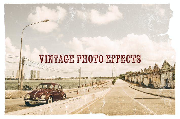 Thumbnail for Vintage Photo Effects