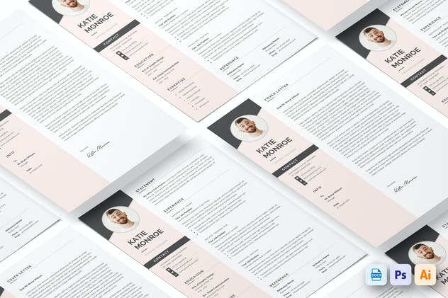 Resume CV - product preview 0