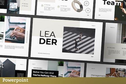 Leader Presentation Template