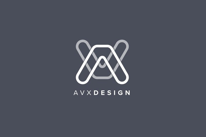 Thumbnail for AVX Design Letter Logo Template