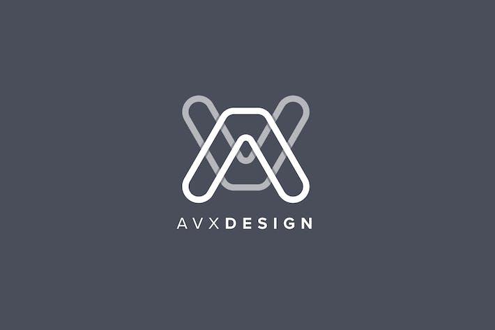 Thumbnail for Mock-up de lettre de conception AVX