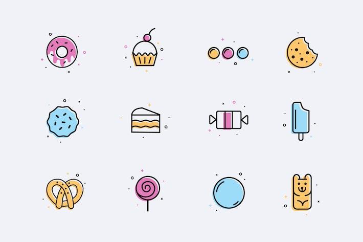 Иконки десертов