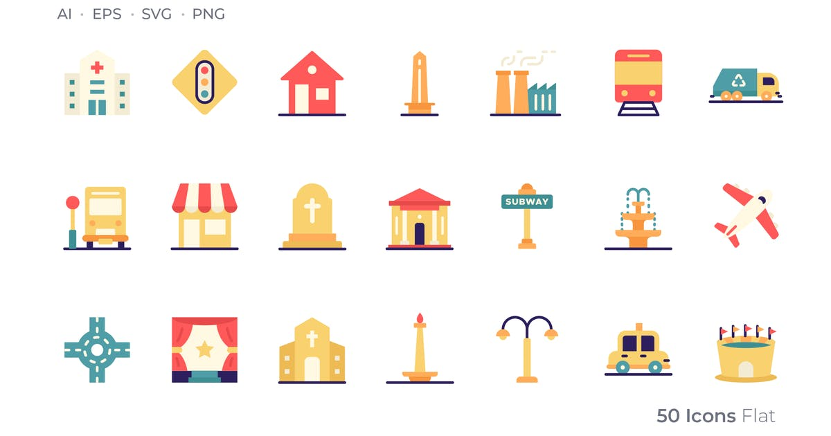 Download City Color Icon by GoodWare_Std