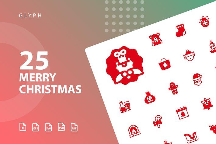 Merry Christmas Glyph