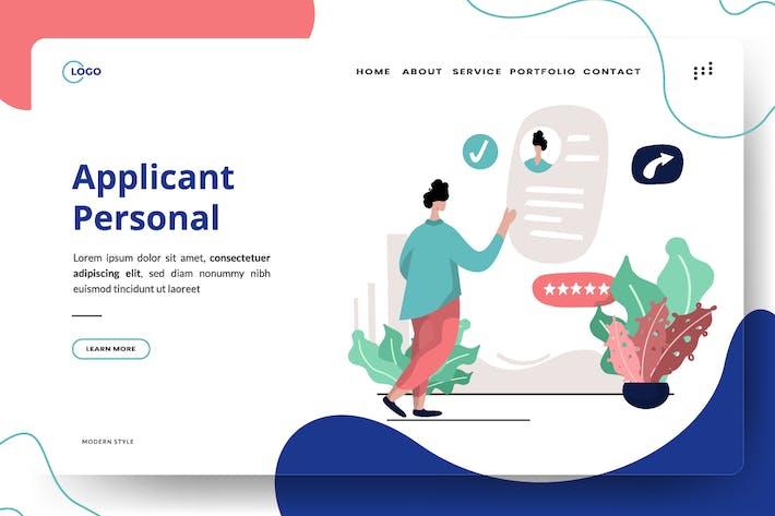 Applicant Personal Illustration