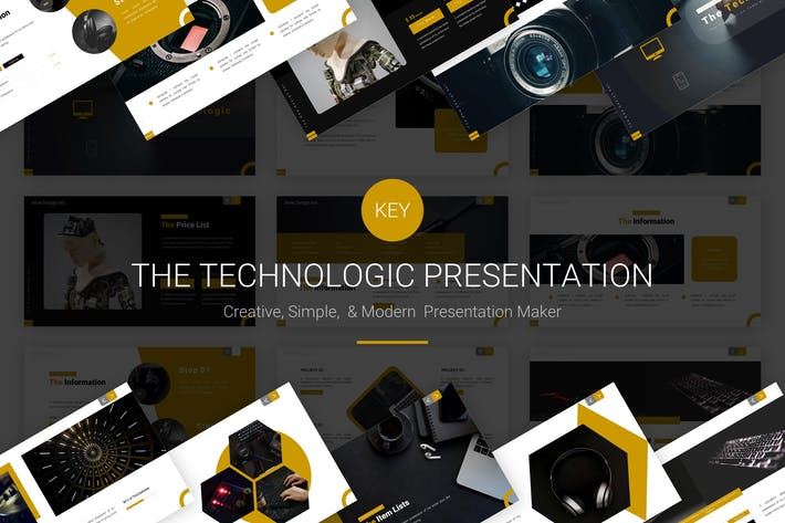 Thumbnail for Технология - Шаблон Keynote