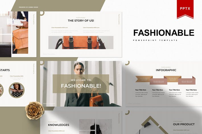 Fashionable | Powerpoint Template