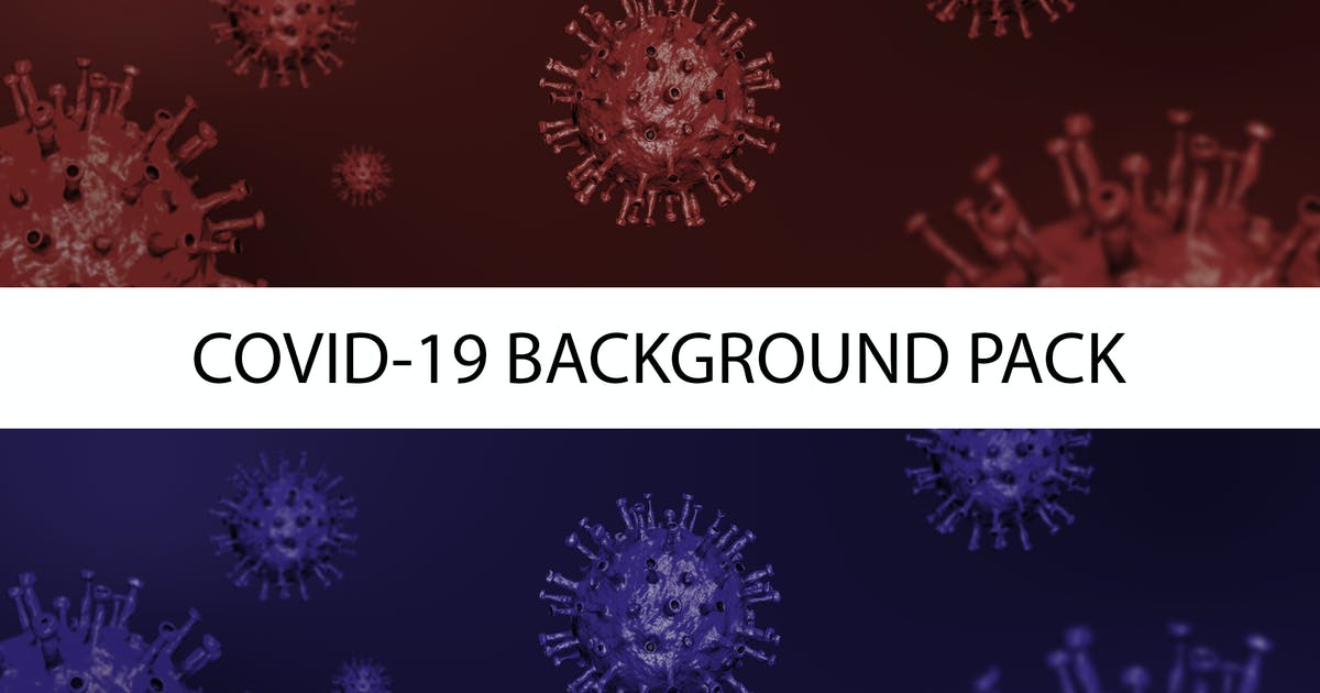Download Coronavirus (Covid-19) Wide Dark Background Pack by VolkanKutlubay