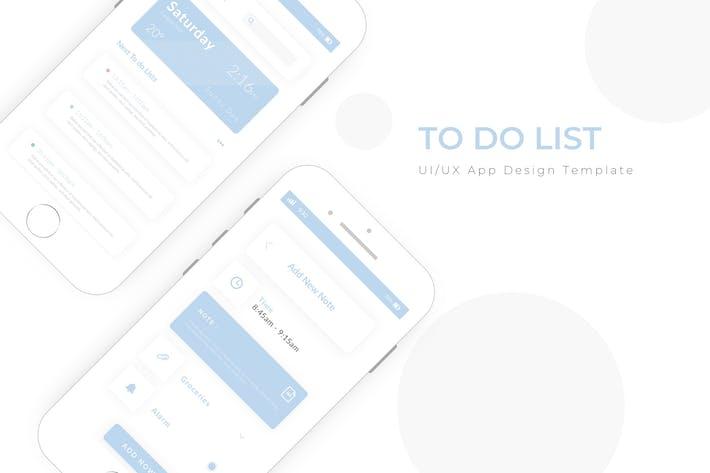 Thumbnail for To Do List App Design