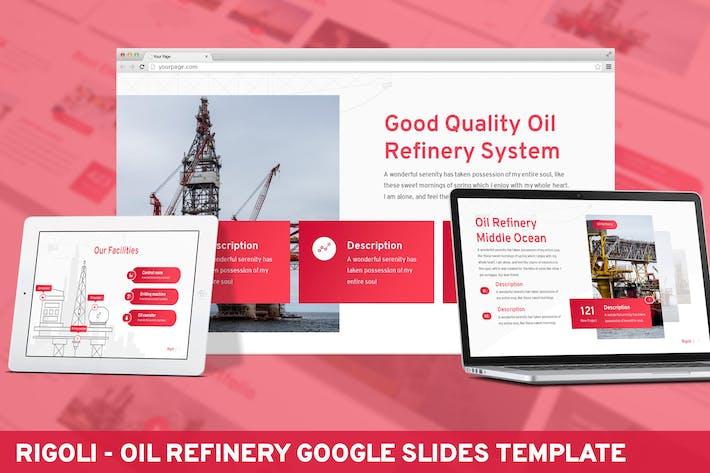 Thumbnail for Rigoli - Ölraffinerie Google Slides Vorlage