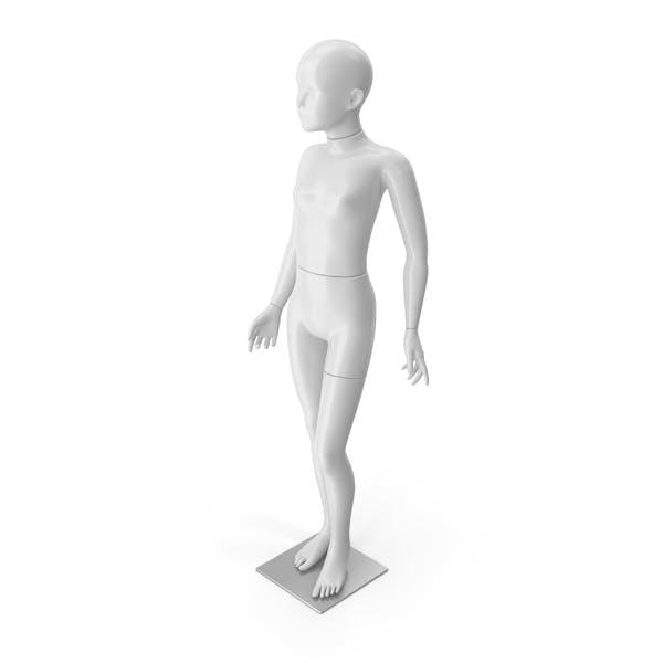 Thumbnail for Girl Mannequin White