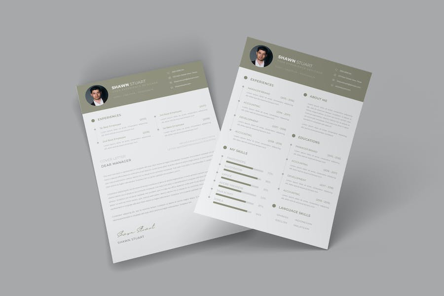 Business CV Resume - product preview 0