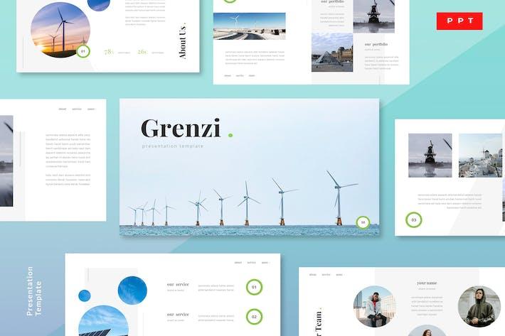 Thumbnail for Grenzi - Renewable Energy Powerpoint Template