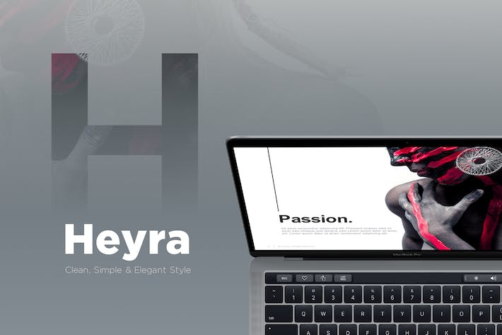 Thumbnail For Heyra Powerpoint Template