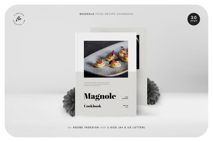 Thumbnail for Magnole Food Recipe Cookbook