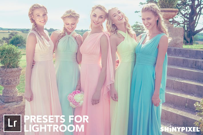Thumbnail for Pastel Colors - 20 Lightroom Presets
