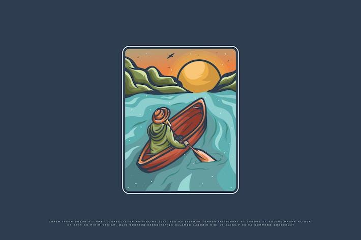 outdoor adventure illustration
