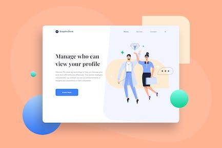 Site Web Obtenir un emploi avec succès