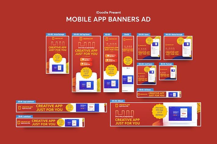 Thumbnail for Mobile App Banners Ad