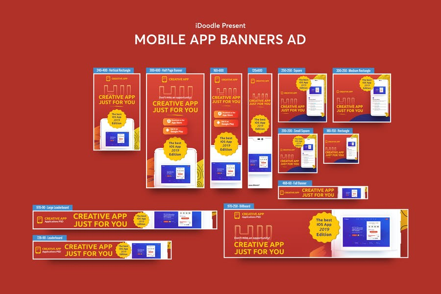 Mobile App Banners Ad