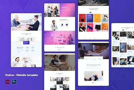 Hydros - Corporate Business Website Templates