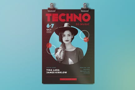 Electro Techno Flyer