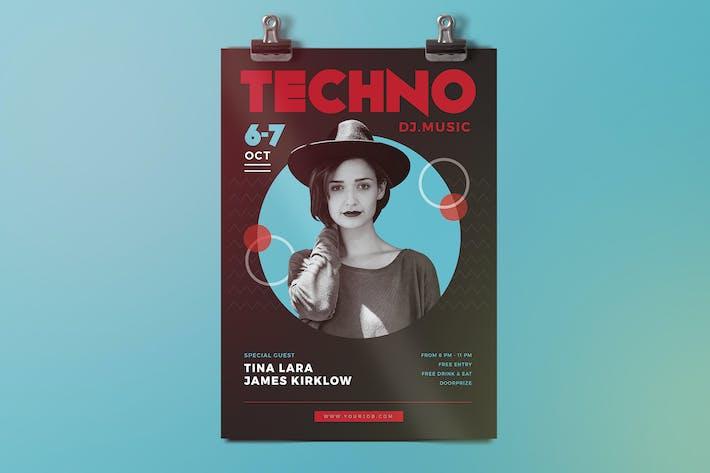 Thumbnail for Electro Techno Flyer
