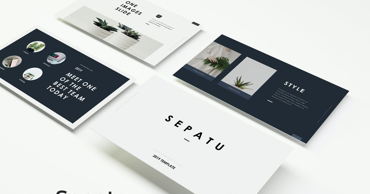 Download Sepatu - Powerpoint Template by IanMikraz