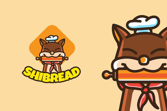 Cover Image For SHIBA INU BAKERY - Mascot & Esport Logo