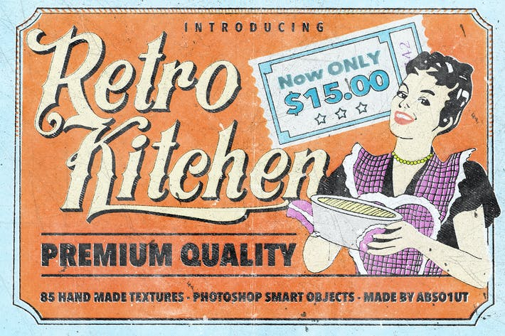 Thumbnail for Retro Kitchen
