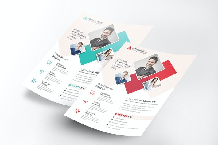 Cover Image For Corporate Flyer