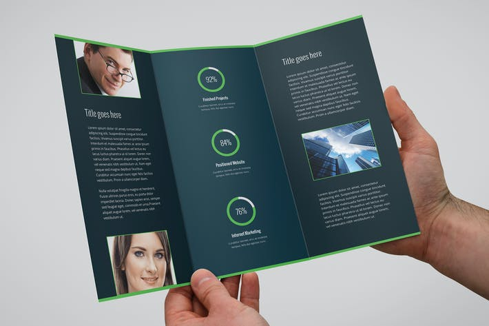 Thumbnail for Colores – Business & Corporate Brochure Tri-Fold