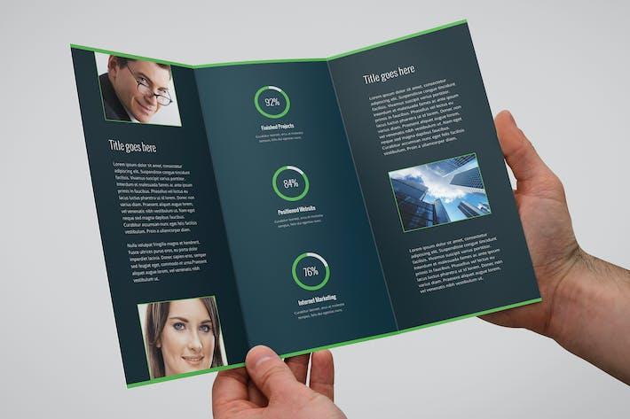 Thumbnail for Colores — Brochure Tri-Fold Business & Entreprise