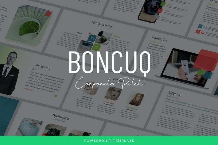 Thumbnail for Boncuq - Corporate Powerpoint Template