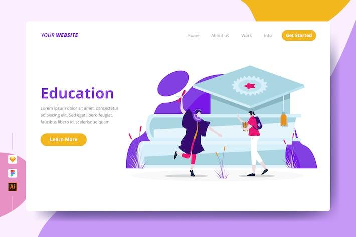 Education - Landing Page