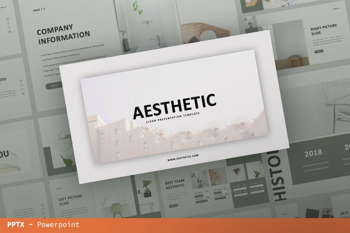 Aesthetic Presentation Template